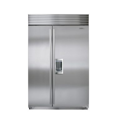 ICBBI-48SD-S-TH SUB ZERO SIDE-BY-SIDE FRIDGE FREEZER WITH EXTERNAL ICE & WATER DISPENSER