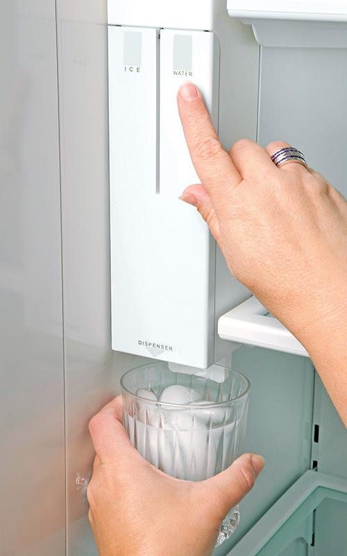Fridge Freezer With Ice And Water Part - 32: Sub-Zero ...