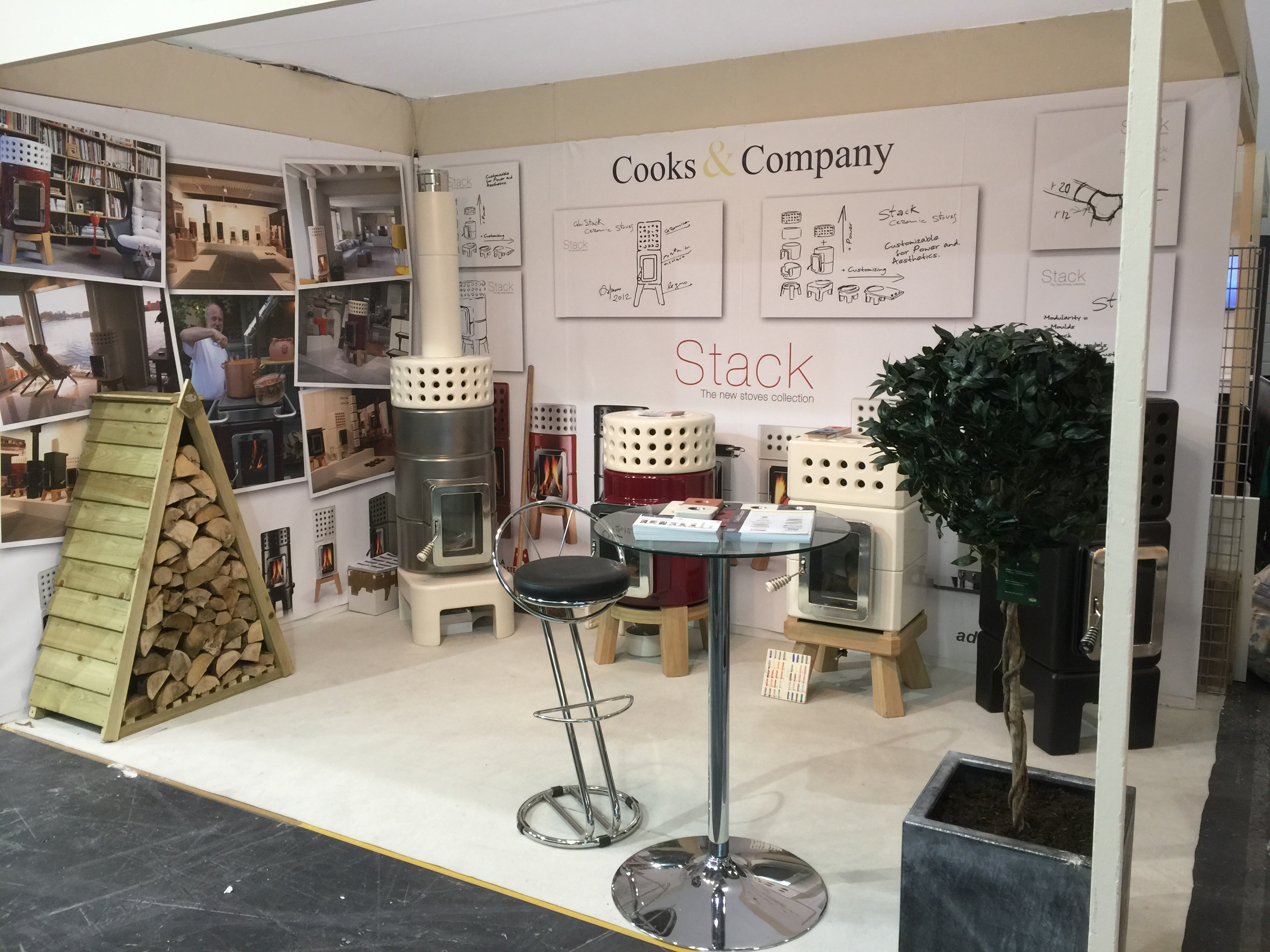 Stack Stoves at Grand Designs Live