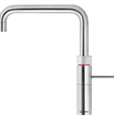 Quooker 2.2FSSTL COMBI Fusion Square Tap - Stainless Steel With COMBI Tank