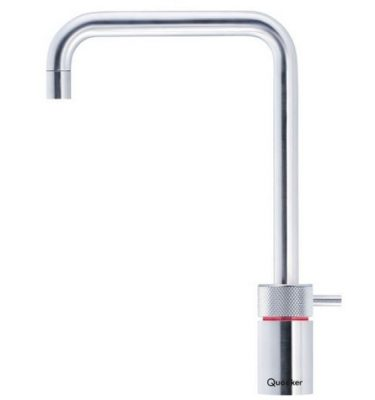 Quooker Pro3 Nordic Square Boiling Water Tap Brushed Chrome