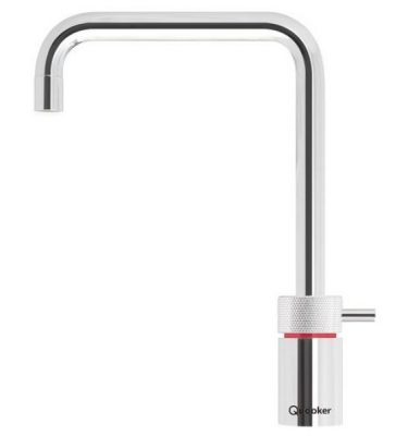 Quooker Pro3 Nordic Square Boiling Water Tap in Chrome