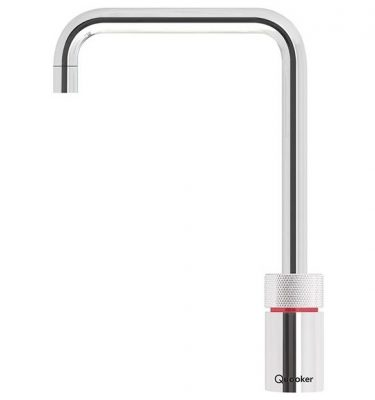 Quooker 7NSCHR PRO7 Nordic Square Boiling Water Tap - Polished Chrome With 7L Tank