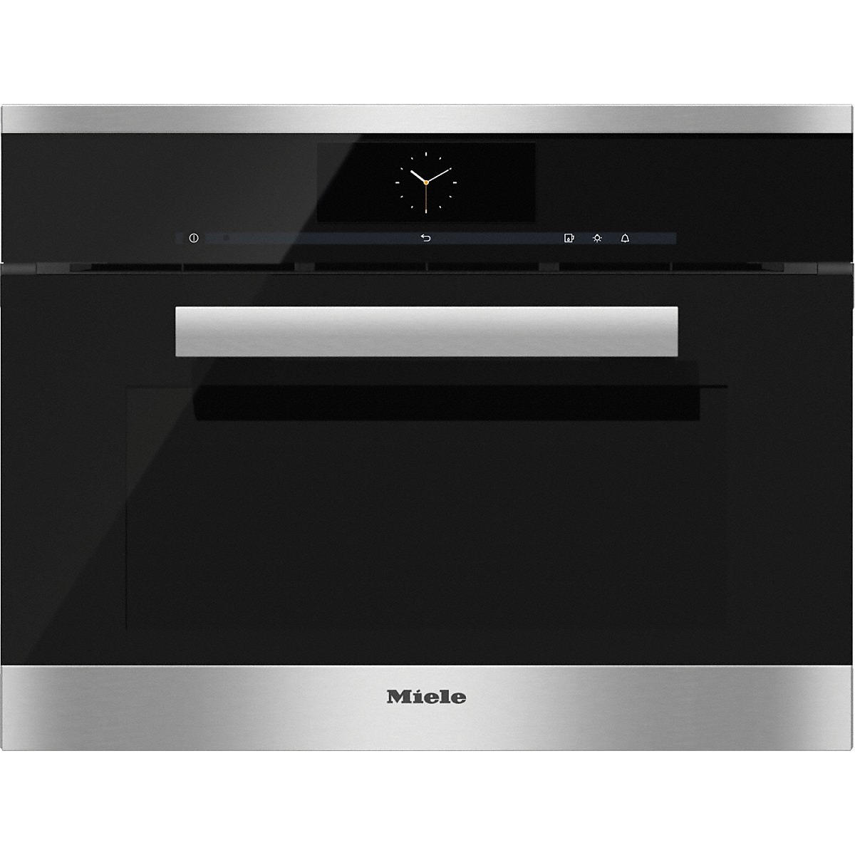 Miele DGC 6805 XL CLST Clean Steel Steam Combination Oven