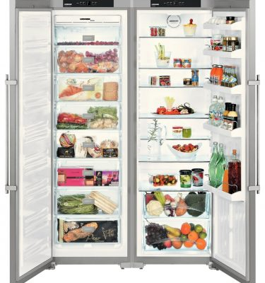 Liebherr SBSesf 7212 Comfort Side By Side Fridge Freezer Smart Steel
