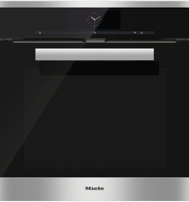 Miele H 6860 BP CLST Clean Steel Built-in oven - Ex-Display Clearance