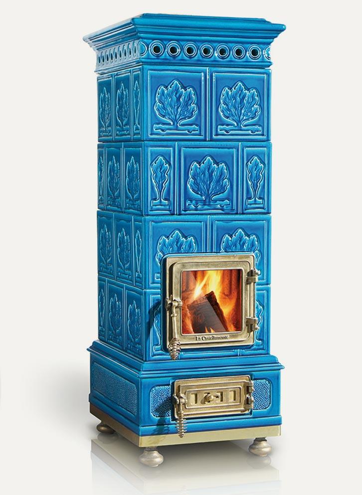 Amabile La Castellamonte Ceramic Wood Burning Stove