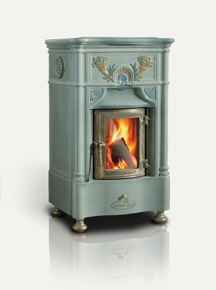 Venexiana La Castellamonte Ceramic Wood Burning Stove