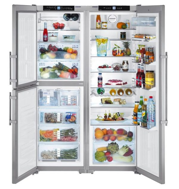 Liebherr-SBSes-7353-Premium-Biofresh-Side-By-Side-Fridge-Smart-Steel