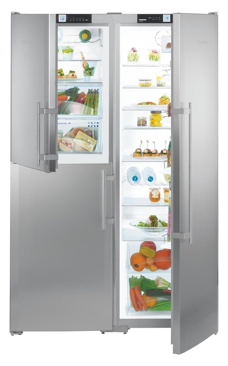 Liebherr Sbses 7353 Premium Biofresh Side By Side Fridge Freezer