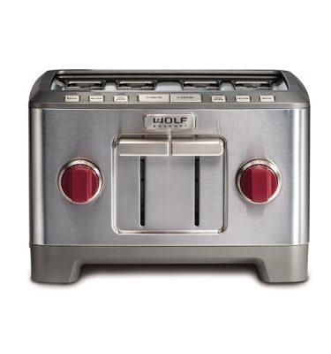 Wolf Gourmet® High-Performance 4 Slice Toaster (RED KNOB)