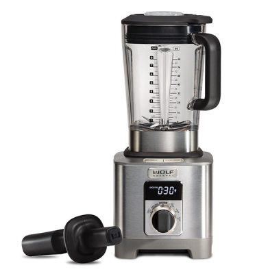 Wolf Gourmet® High-Performance Blender Black Knob ICBWGBL110S-UK