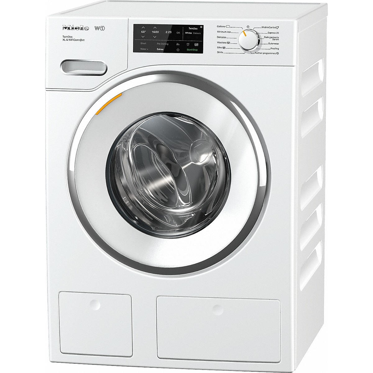 miele wwi660 tdos xl wifi w1 9kg front loading washing machine cooks company. Black Bedroom Furniture Sets. Home Design Ideas