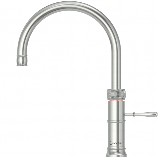 Quooker PRO7 Classic Fusion Round Tap - Stainless Steel With 7L Tank