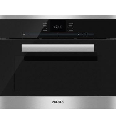 Miele DGC6600 CLST Clean Steel XL Steam Combination Oven