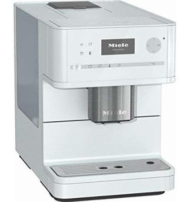 Miele CM 6150 BRWH Brilliant White Countertop Coffee Machine