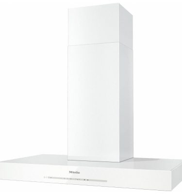 Miele DA 6698 W BRWS Brilliant White Steel Puristic Edition 6000 Wall mounted cooker hood