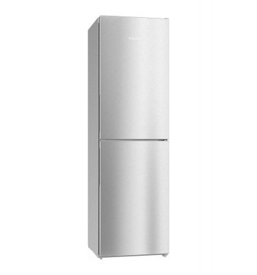 Miele KFN 29142 D CLST Clean Steel Freestanding Fridge Freezer