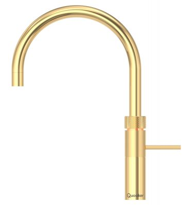 Quooker 3FRGOLD PRO3 Fusion Round Tap - Gold With 3L Tank