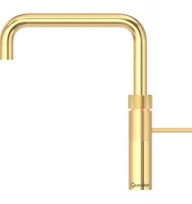 Quooker 3FSGOLD PRO3 Fusion Square Tap - Gold With 3L Tank