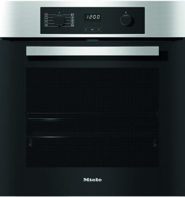 Miele H2267-1BP CLST Clean Steel Oven