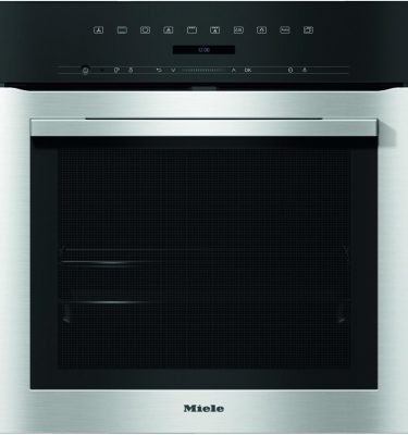 Miele H7164B CLST Clean Steel Oven