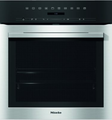 Miele H7164BP CLST Clean Steel Oven