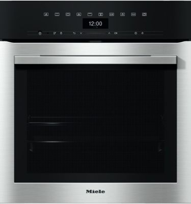 Miele H7364BP CLST Clean Steel Oven