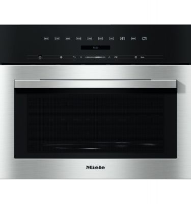 Miele M7140TC CLST Clean Steel Microwave Oven