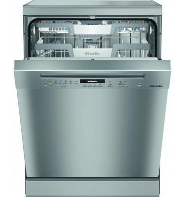 Miele G7100SC CLST Clean Steel Freestanding Dishwasher