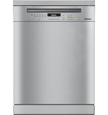 Miele G7102SC CLST Clean Steel Freestanding Dishwasher