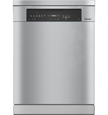 Miele G7310SC CLST Clean Steel Freestanding Dishwasher
