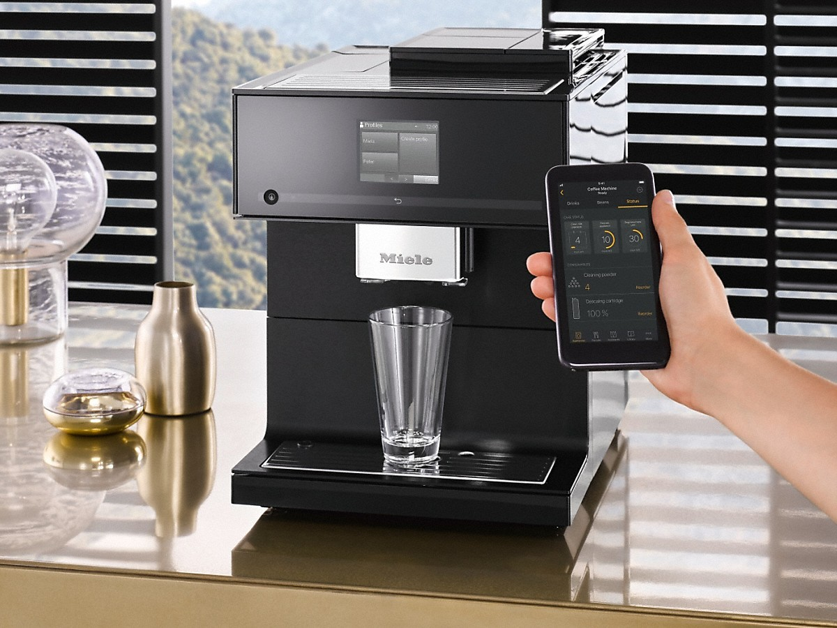 Miele Cm 7750 Obbl Obsidian Black Countertop Coffee Machine