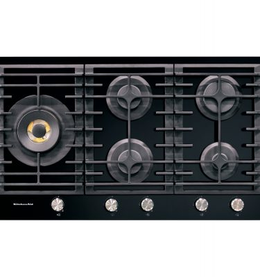 KitchenAid KHGD5 86510 90cm 5 Burner Gas-on-glass Hob