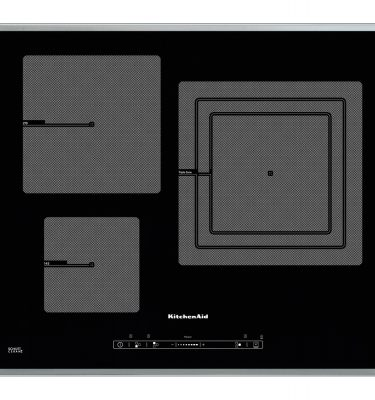 KitchenAid KHID3 65510 65cm 3 Zone Induction Hob