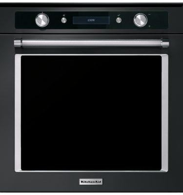 KitchenAid KOHSSB 60604 Multifunction 60cm Built-In Single Oven - Black Steel