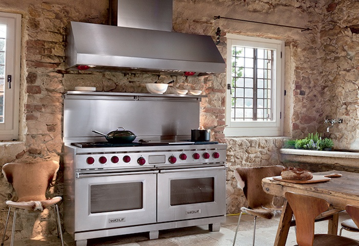Wolf Dual Fuel Range Cooking