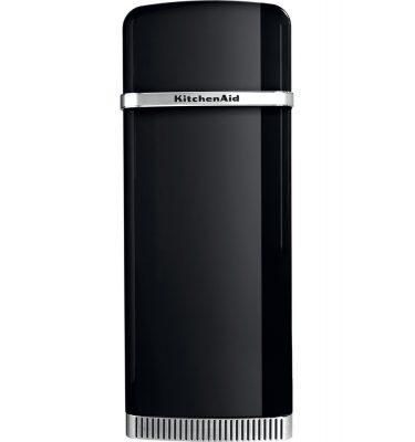 KitchenAid KCFMB60150R Retro Freestanding Fridge Freezer Right Hand Hand Hinge – Onyx Black