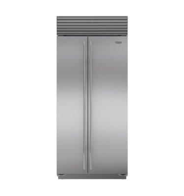 Sub-Zero ICBBI-36S Side-By-Side Refrigerator/Freezer