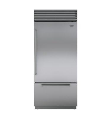Sub-Zero ICBBI-36UID Over-and-Under Refrigerator with Freezer Drawer