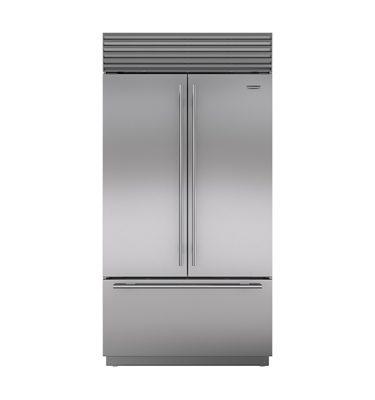Sub-Zero ICBBI42UFDID Over-and-Under Refrigerator/Freezer with French Door