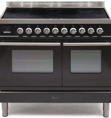 Ilve PDWI-100-E3 Roma 100cm Twin Induction Range Cooker - Ex-Display