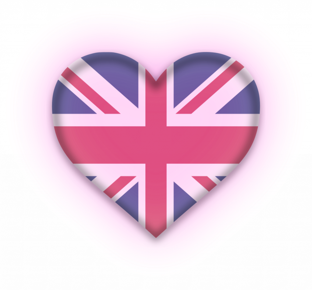british love heart