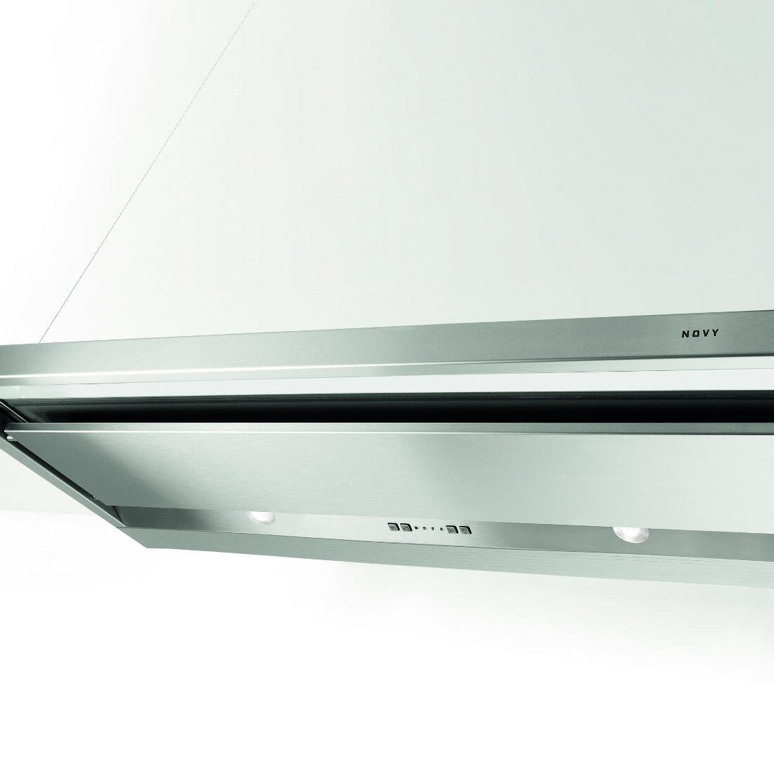 Novy 693 Telescopic Glass Stainless Steel Silent Cooker Hood